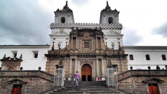 Iglesia de San Francisco, Quito, Ecuador