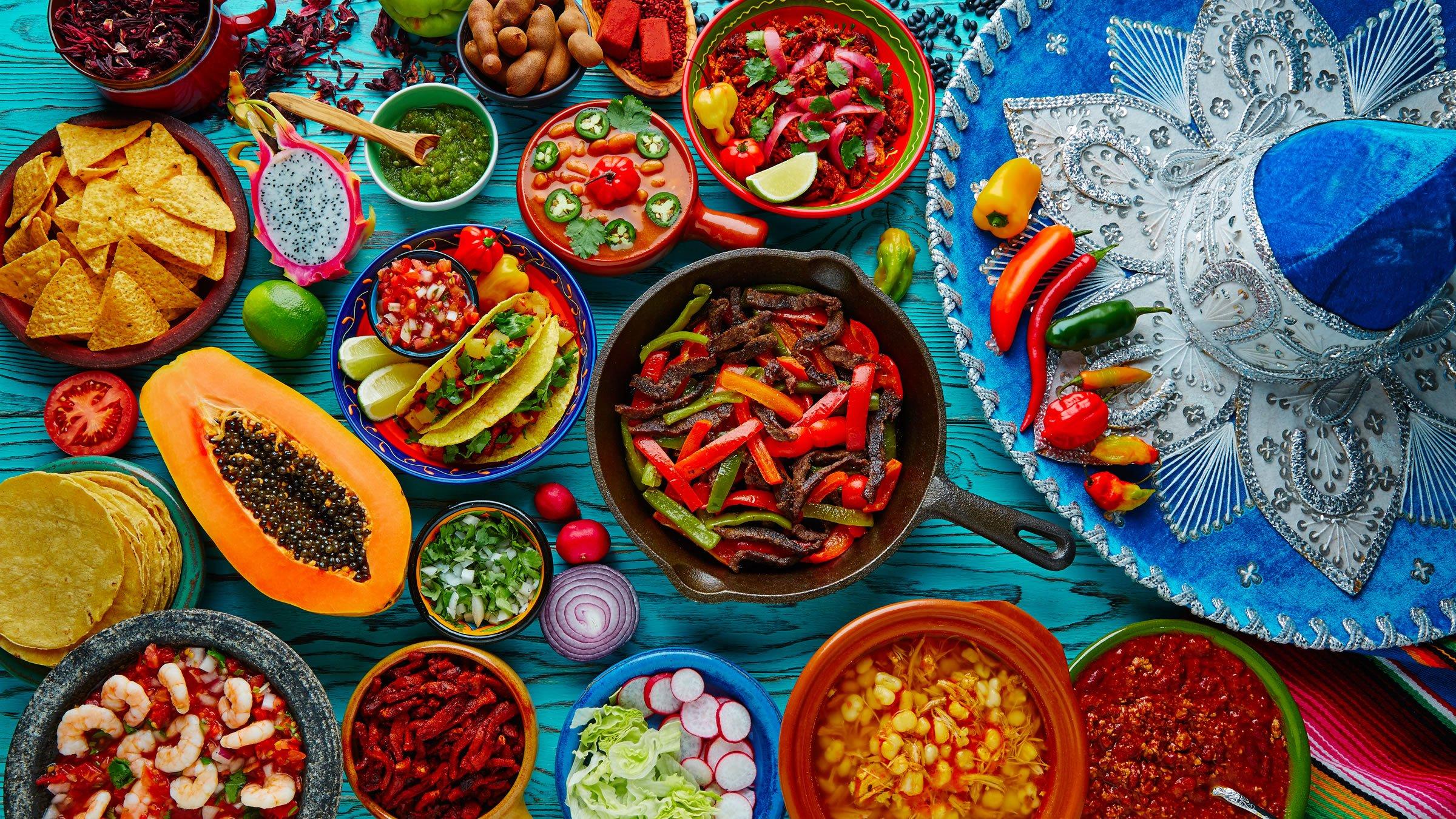 Los cinco continentes del mundo y su gastronomía