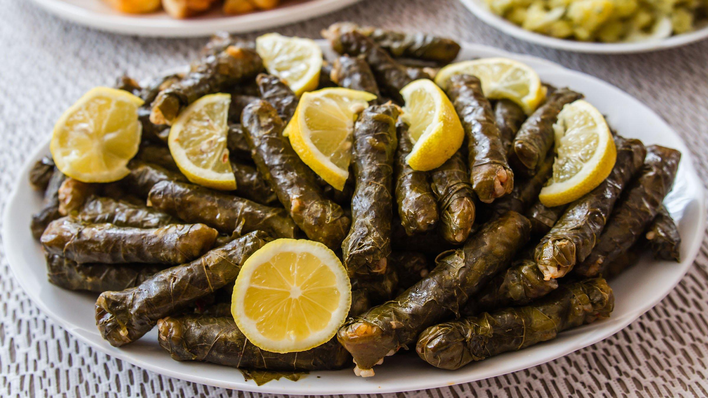 Ingredientes Waraq el Enab