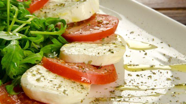 Ingredientes máis representativos da dieta mediterránea