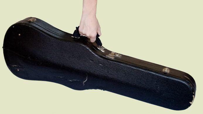 Instrumentos musicales pequeños permitidos en cabina en Ryanair