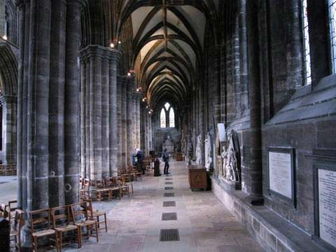 Interior Catedral de Glasgow