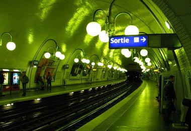 Interior Metro Paris