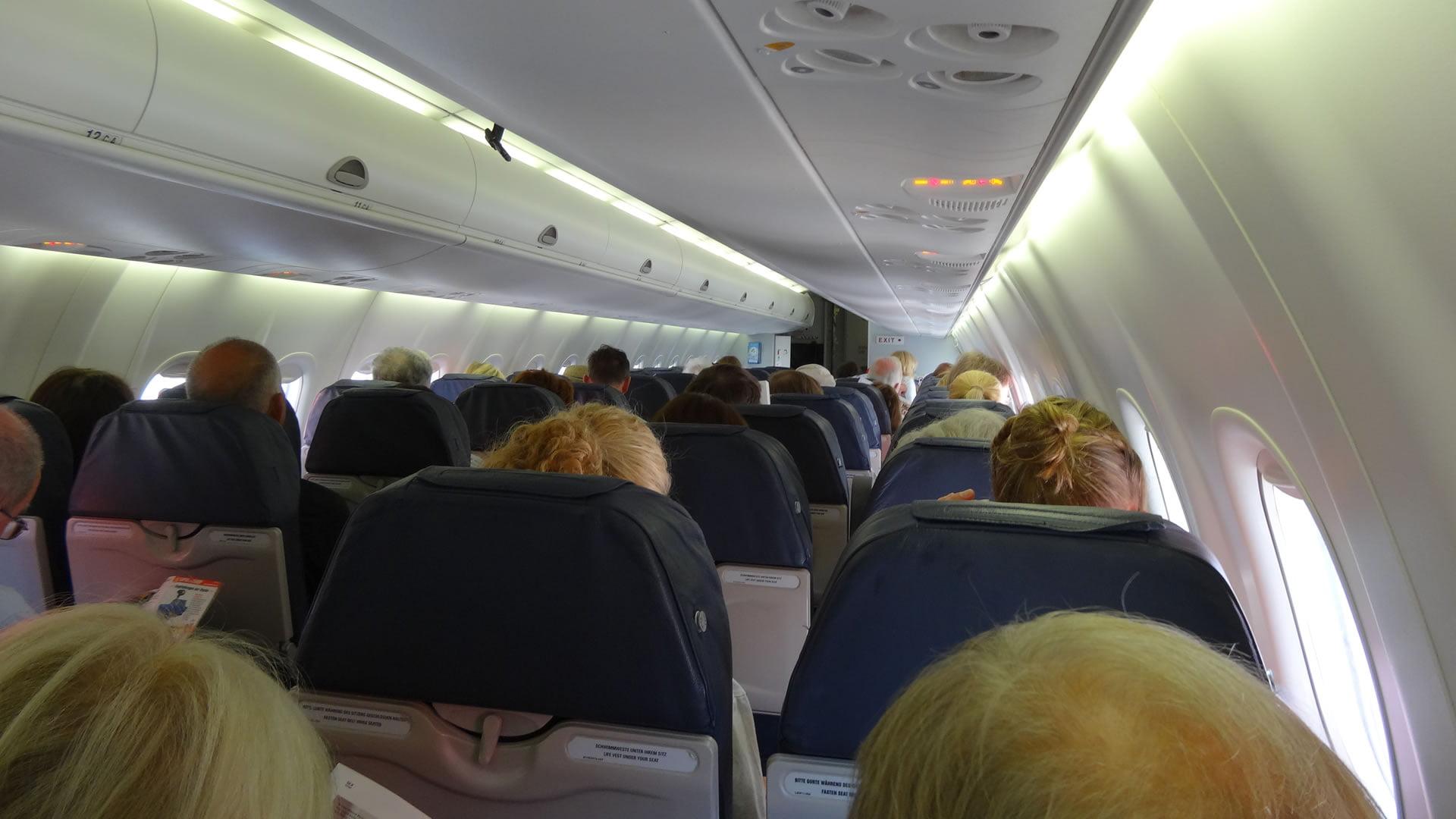 Interior aeronave Air Berlin