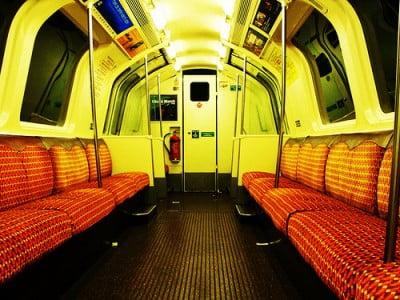Interior de tren