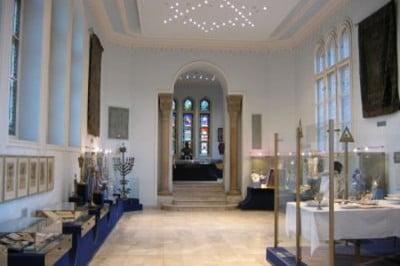 Interior del Museo Judio