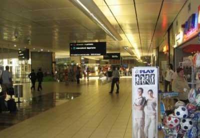 Interiores de Aeropuerto en Johannesburgo