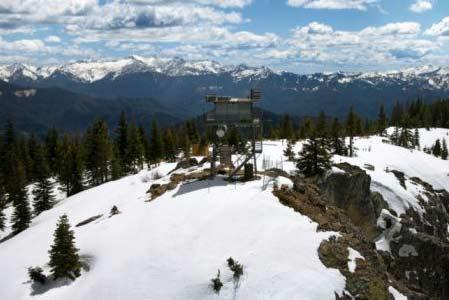 Invierno en las montanas