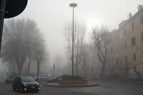 Inviernos frios en Toscana y Milan