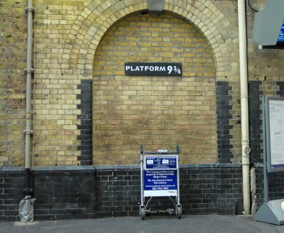 King's Cross y Harry Potter