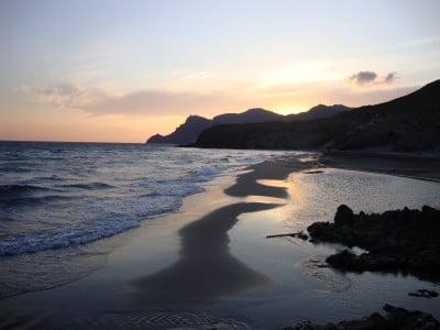Las mejores playas nudistas: Cala de Barronal, Almeria