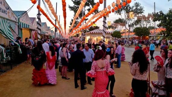 La Feria de Abril o Feria de Sevilla