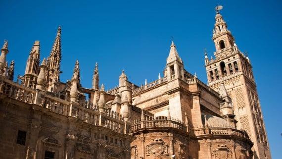La Giralda: el campanario de la Catedral de Sevilla