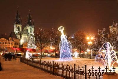 Navidades en Praga
