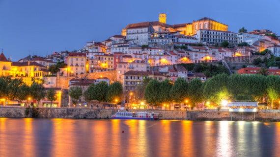 La belleza de Coímbra, Portugal
