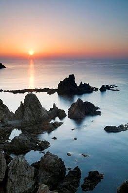 La costa de  Almeria, Las Sirenas
