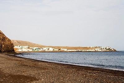 La costa de Lanzarote, España