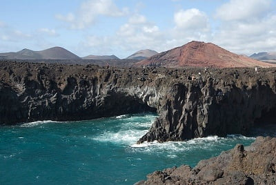 La costa de Lanzarote