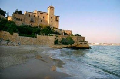 La costa de Tarragona, castillo de Tamarit