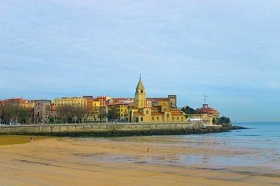 La costa en Asturias playa