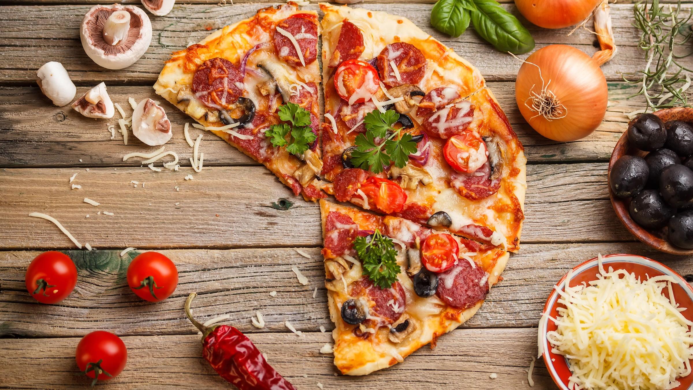 La pizza el plato estrella de la cocina italiana for Platos de pizza