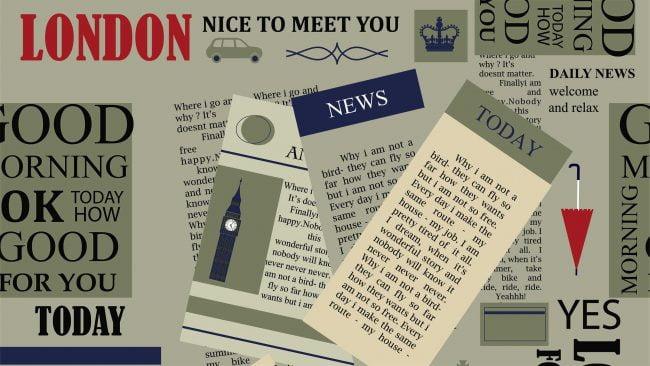 La prensa en la cultura británica