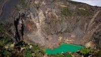 Lago del cráter del Volcán Irazú (Costa Rica)