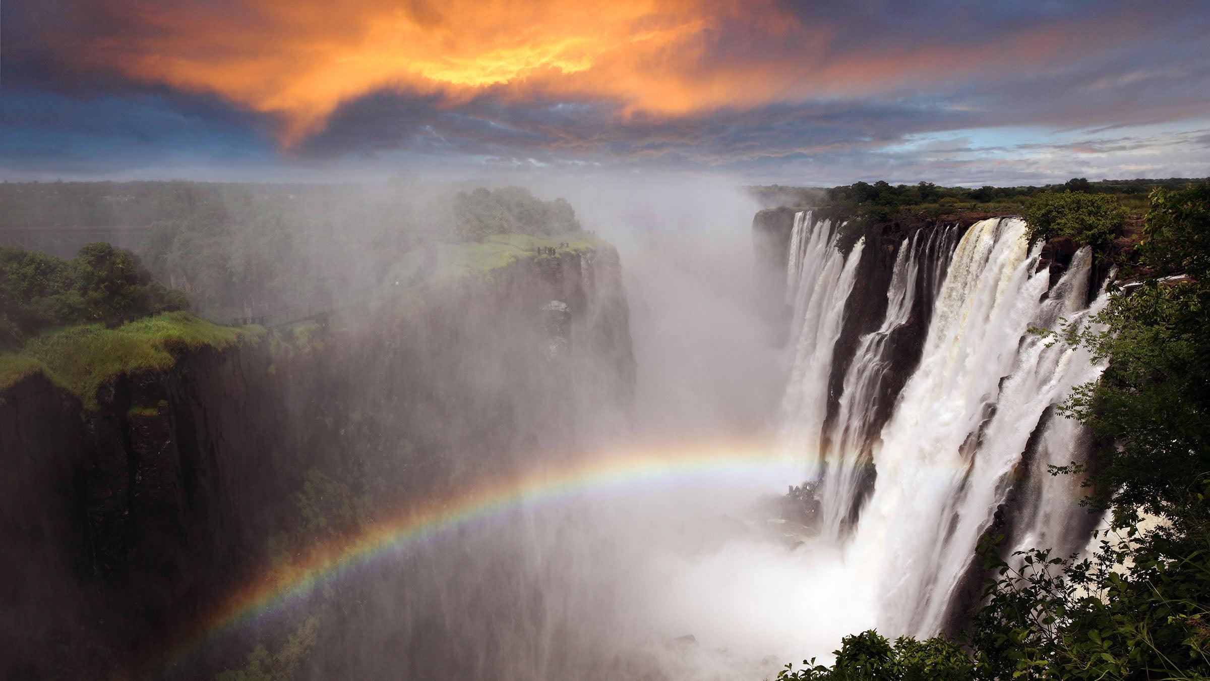 Las 7 maravillas naturales del mundo cataratas victoria