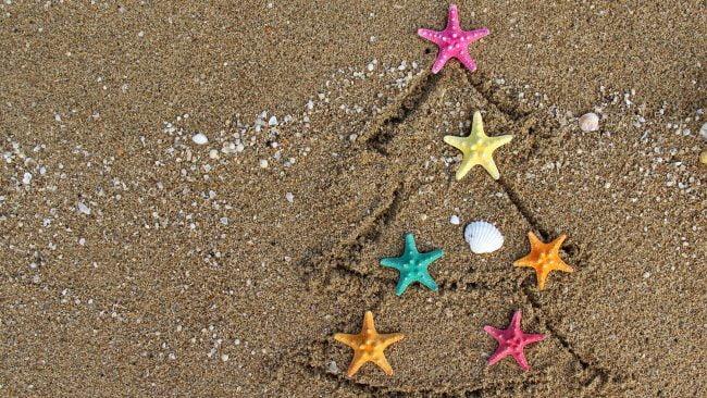 Celebrar Año Nuevo en la costa de Argentina