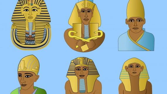 Las distintas coronas de los faraones egipcios