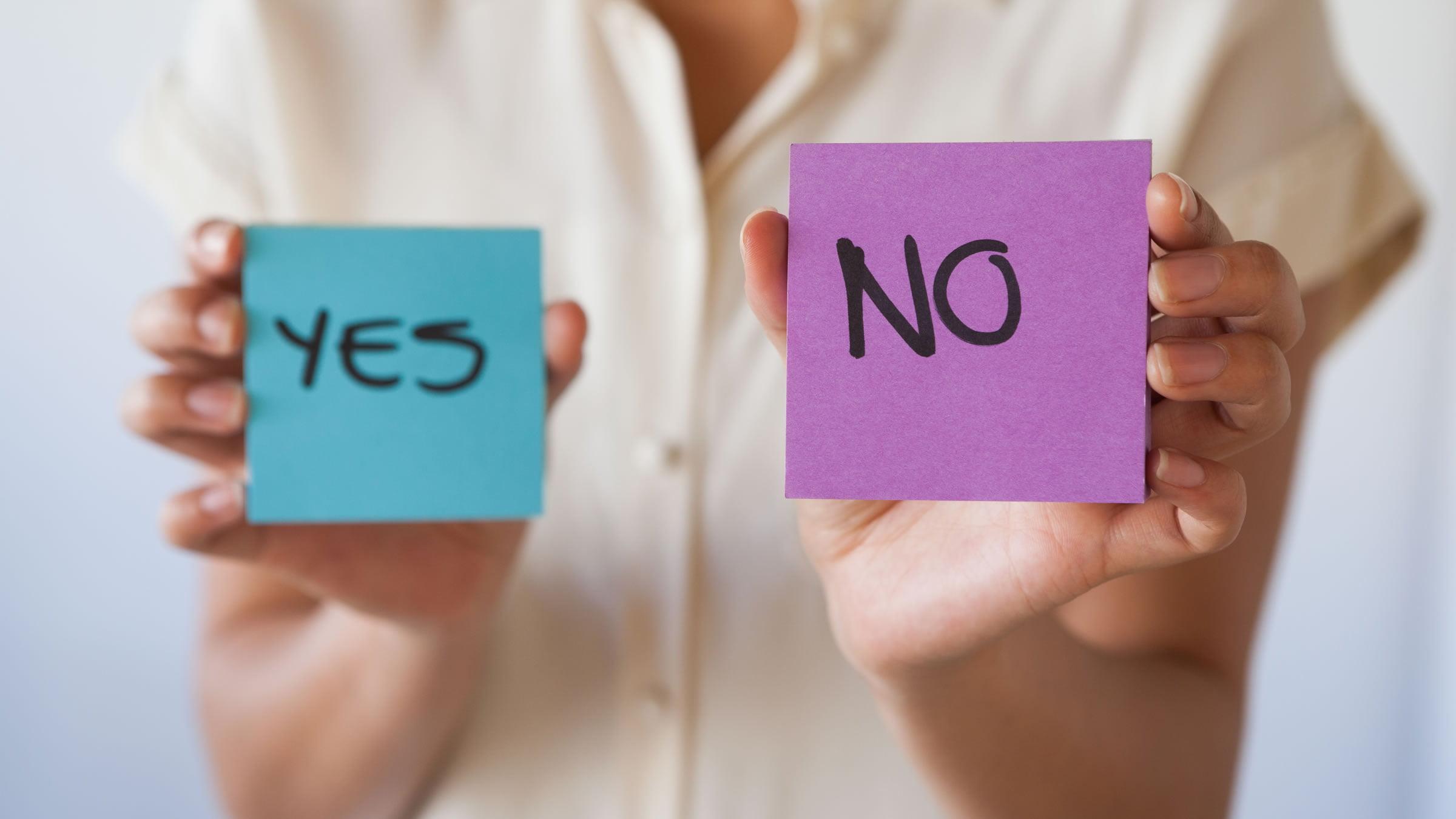 """Las formas de decir """"sí"""" y """"no"""" en Escocia"""