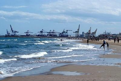 Las playas de Valencia costa