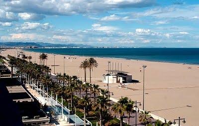 Las playas de Valencia playa Malvarossa