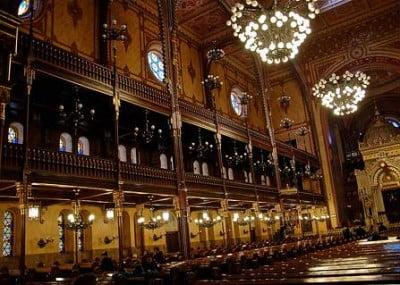Laterales de la Gran Sinagoga