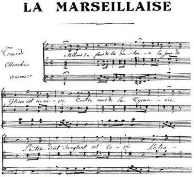 Letra La Marsellesa