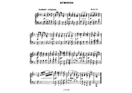 Letra de Himno Hungaro