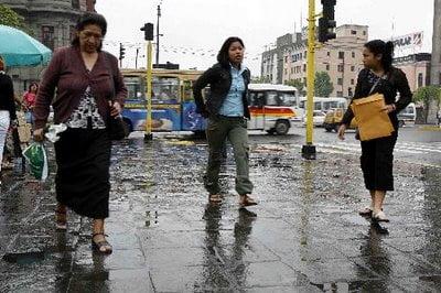 Lima en invierno