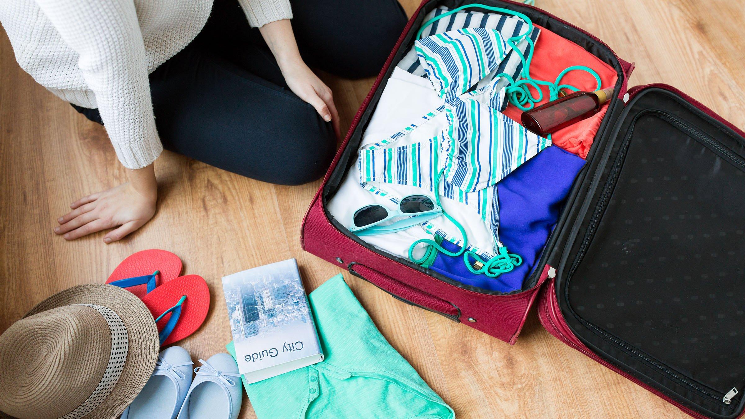 Líquidos en el equipaje de mano