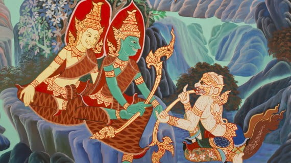 A Ramaiana, a obra máis influente da literatura india
