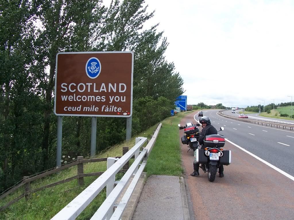 Llegada Escocia