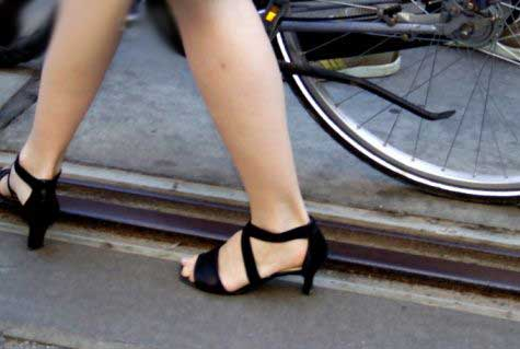 Llegar en bicicleta