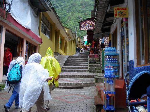 Lluvia en Cuzco