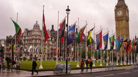 Londres el día del Jubileo de Diamante de la Reina