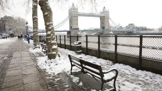 temperatura londres diciembre: