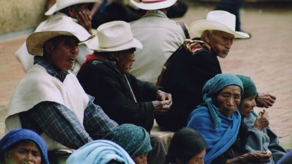 The Chiapas, an indigenous group of Mexico