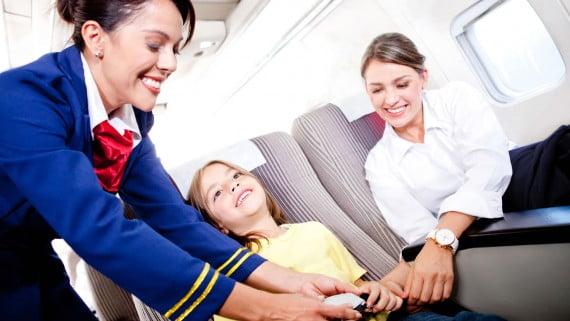 Los niños y el miedo a volar