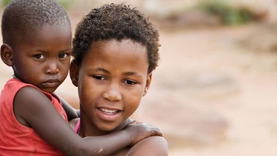Los niños: los más afectados por la pobreza en África