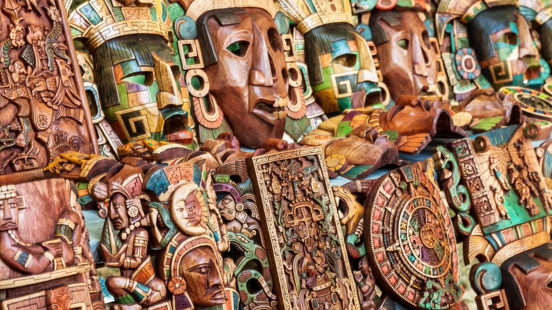 Máscaras mayas