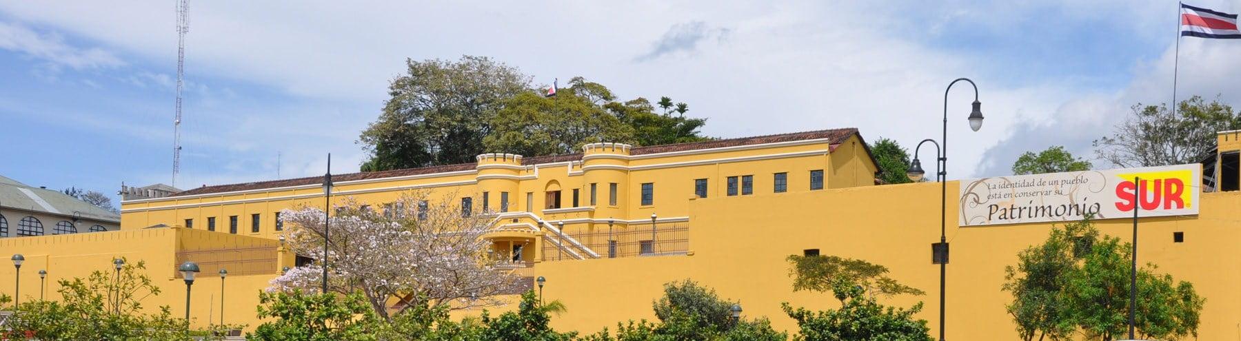 Vista Exterior del Museo Nacional