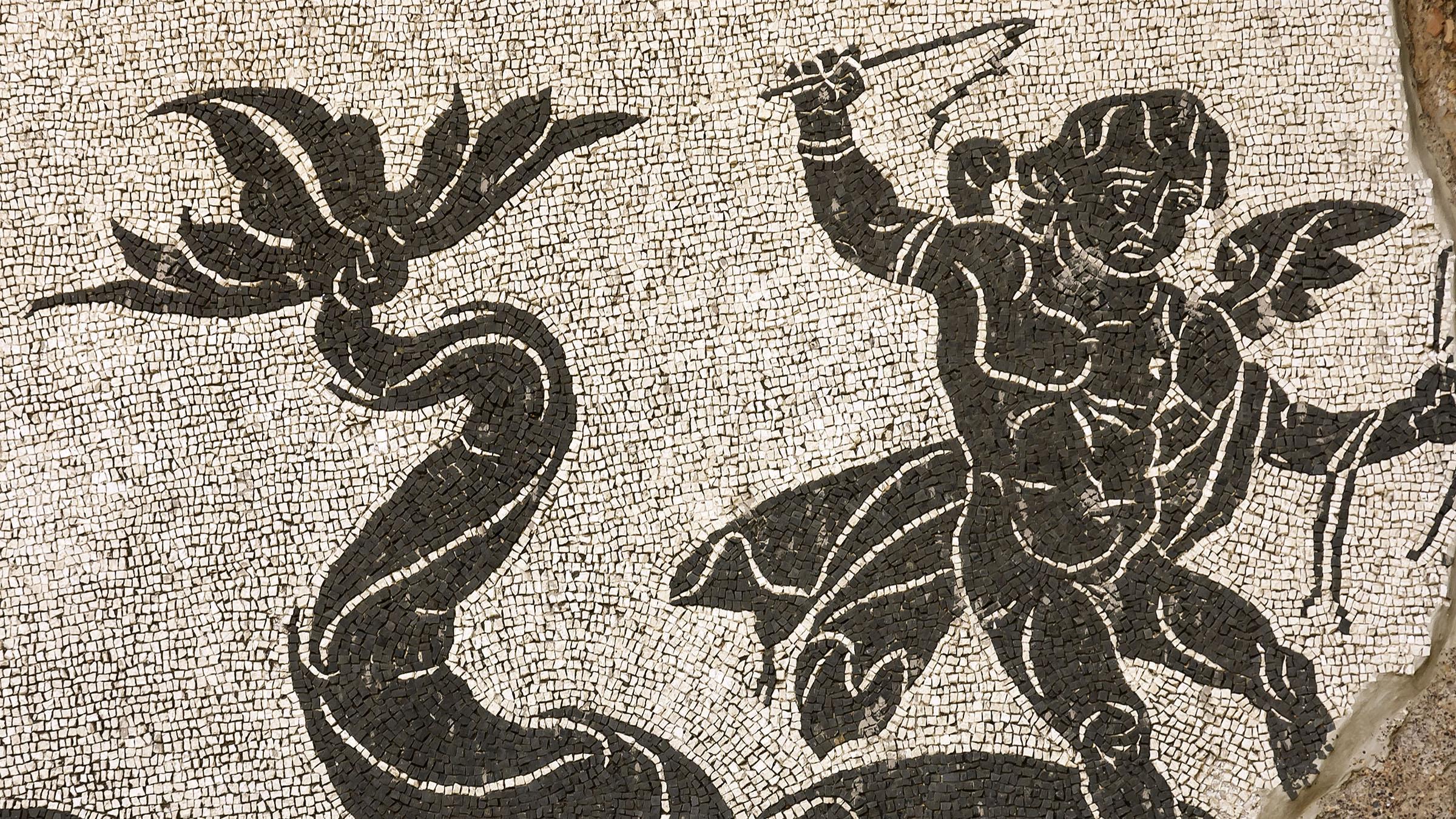 Mosaicos de las termas de caracalla - Mosaicos para suelos ...
